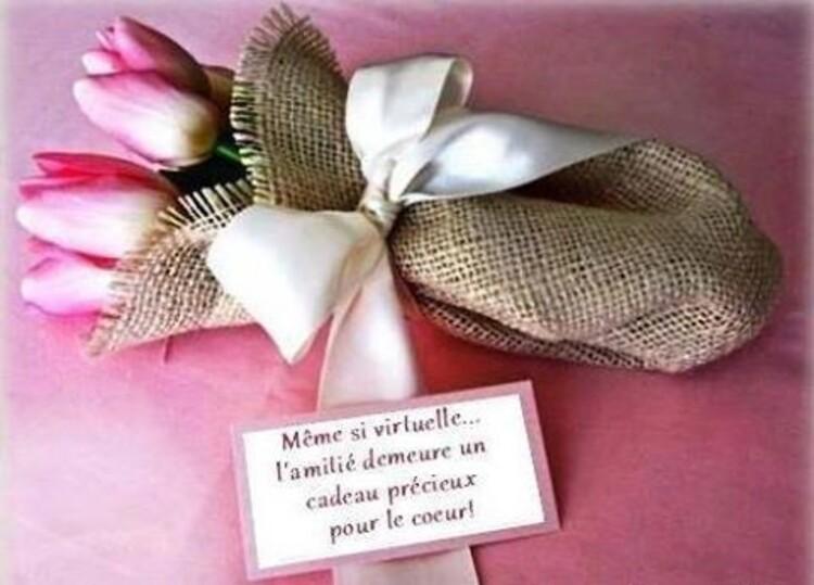 Un joli cadeau de Monia