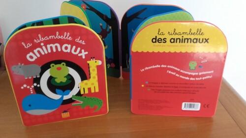 Livre accordéon pour les bambins