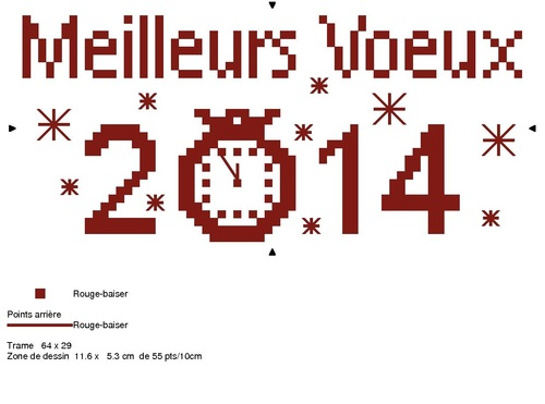 Grille gratuite - Meilleurs Voeux 2014