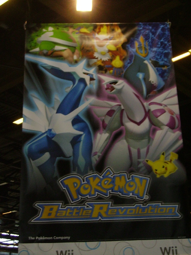 Affiche des new jeu pokemon