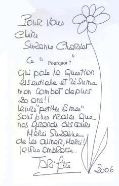 Petites âmes de Suzanne Charvet... La postface de Brigitte Bardot