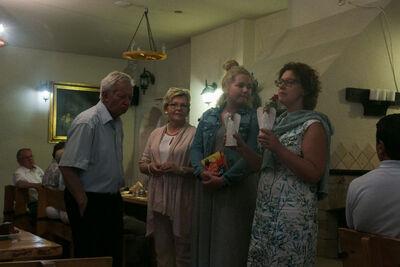 dimanche 4 juin : Soirée au restaurant Kampinówka