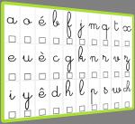 La boite des alphas et lettres mobiles