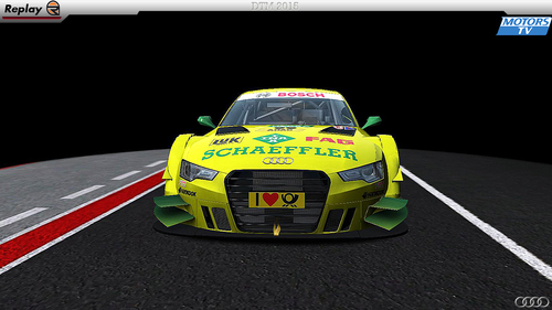Team Phoenix Mike Rockenfeller - Audi RS5