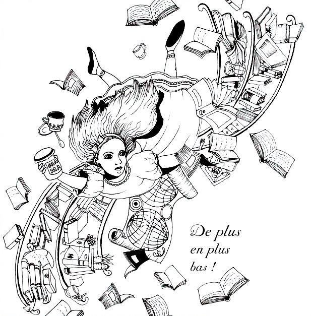 Alice Au Pays Des Merveilles Une Aventure à Colorier
