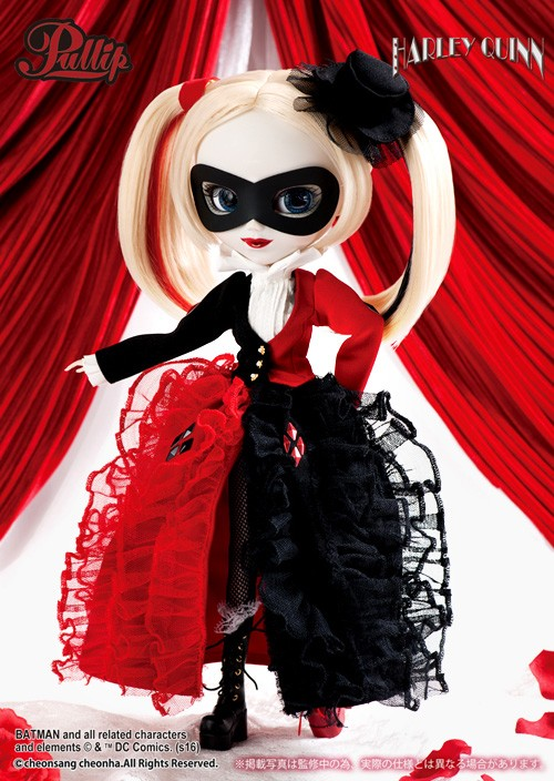 Juillet : Pullip Harley Quinn Dress Version