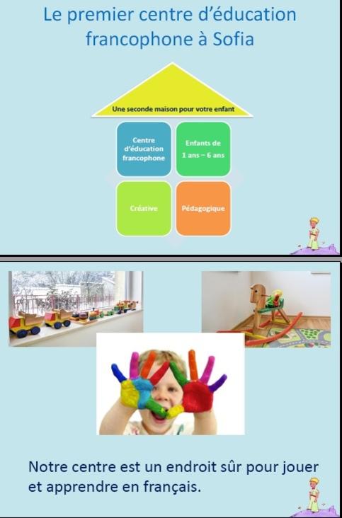 """Centre d'enfants francophones """"Les PetitsPrinces"""""""
