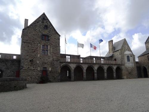 Le çâteau de Vitré en Bretagne