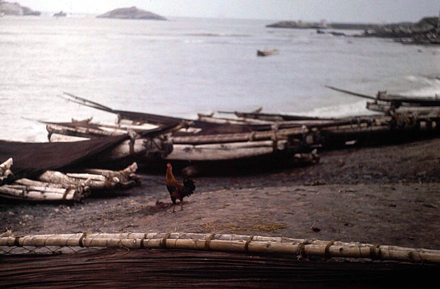 SUITE N°3 SUR L'INDE CAP COMORIN EN 1978