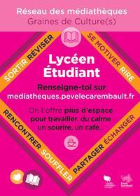 """Les médiathèques de la Pévèle Carembault vous proposent des """"Espaces de Travail"""""""
