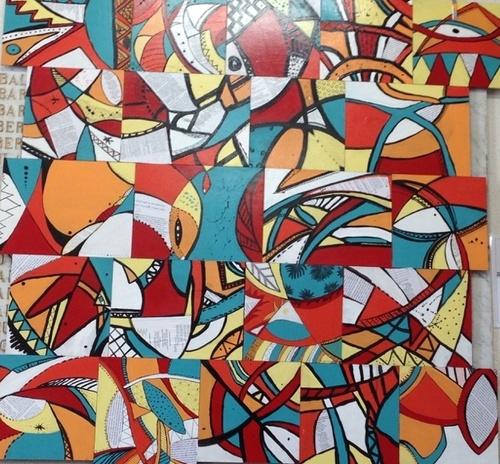 Projet street art : l'inauguration