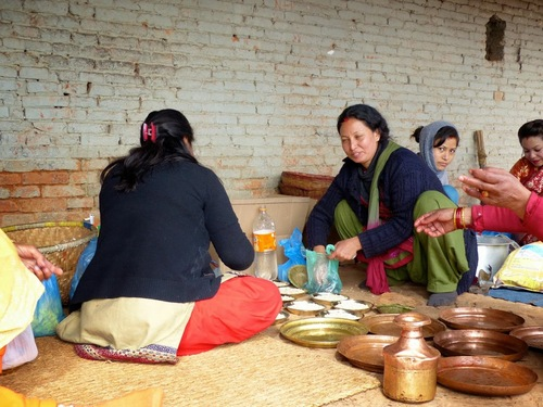 la vie quotidienne à Bakhtapur