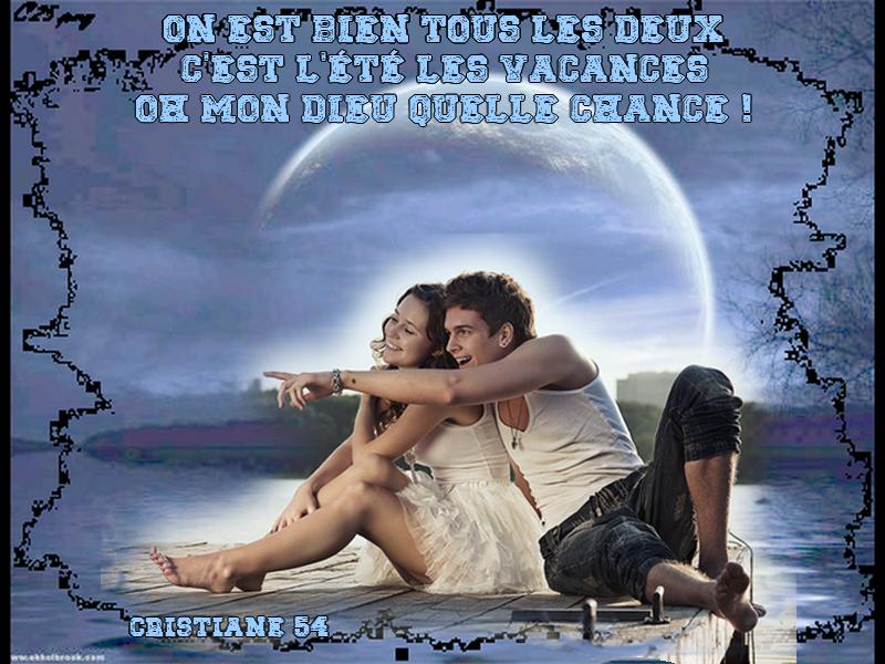 """""""Le Ciel, le Soleil et la Mer"""" François Deguelt . pour Monia 59"""