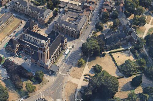 Forest - Rue du Curé (Google 3D)