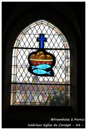 Corsept, Eglise Saint Martin  - intérieur -