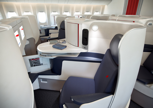 Air France chouchoute la classe Affaires