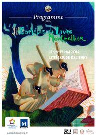 La comédie du livre; salon du livre de Montpellier, du 27 au 29 mai 2016
