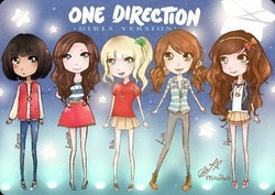 les One Direction version filles!