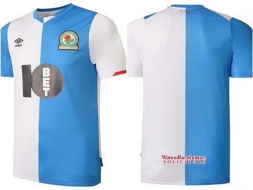 Acheter Maillot Blackburn Rovers 2019-2020 pas cher
