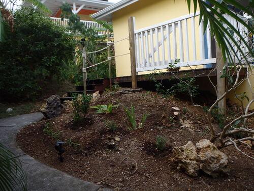 Nouveau jardin à Tival-location