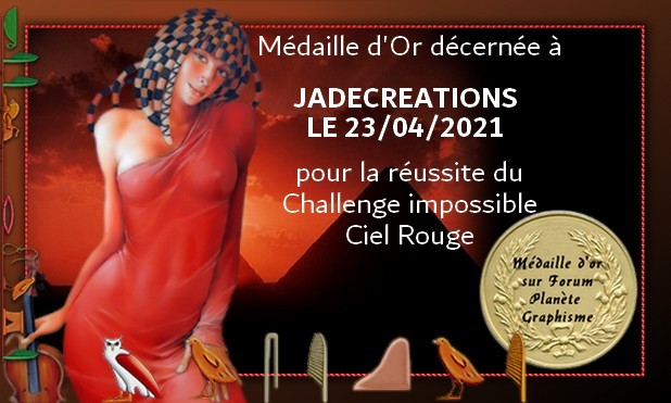 Mes médailles des Challenges impossibles de Macha