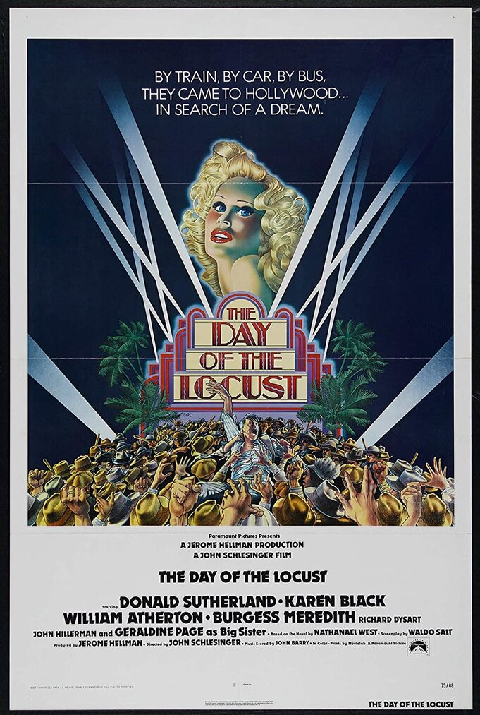 THE DAY OF THE LOCUST BOX OFFICE USA 1975