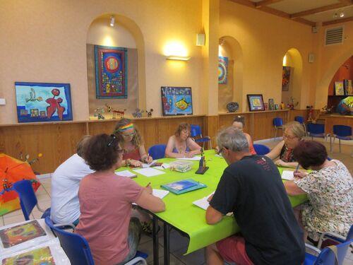 19 juillet 2016 - Atelier d'écriture pour adultes