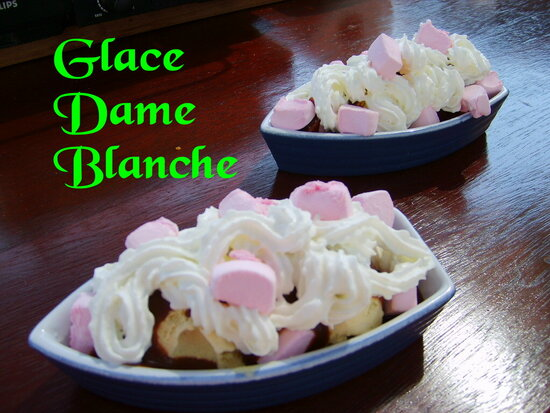 Glace Dame blanche