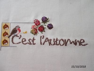 """Sal """"c'est l'automne""""."""
