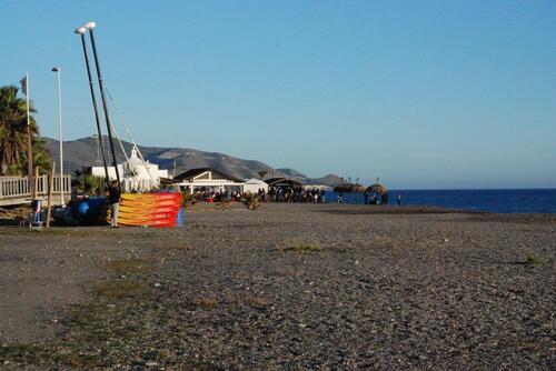 La plage à Motril