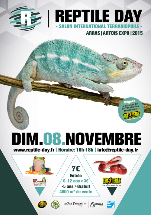 Reptile Day à Arras