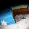 gâteau 3 chocolats reine des neiges