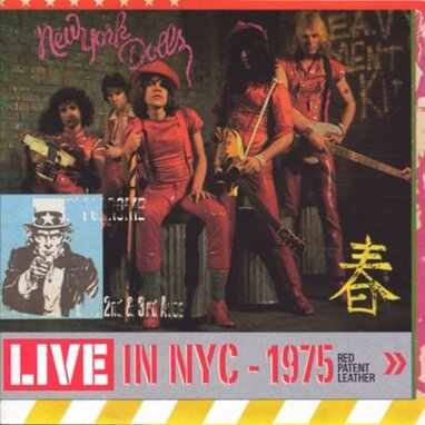 Poupées rouges: New York Dolls - Red Patent leather
