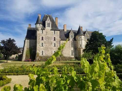 le Château et  l'Hotel Dieu de BAUGE