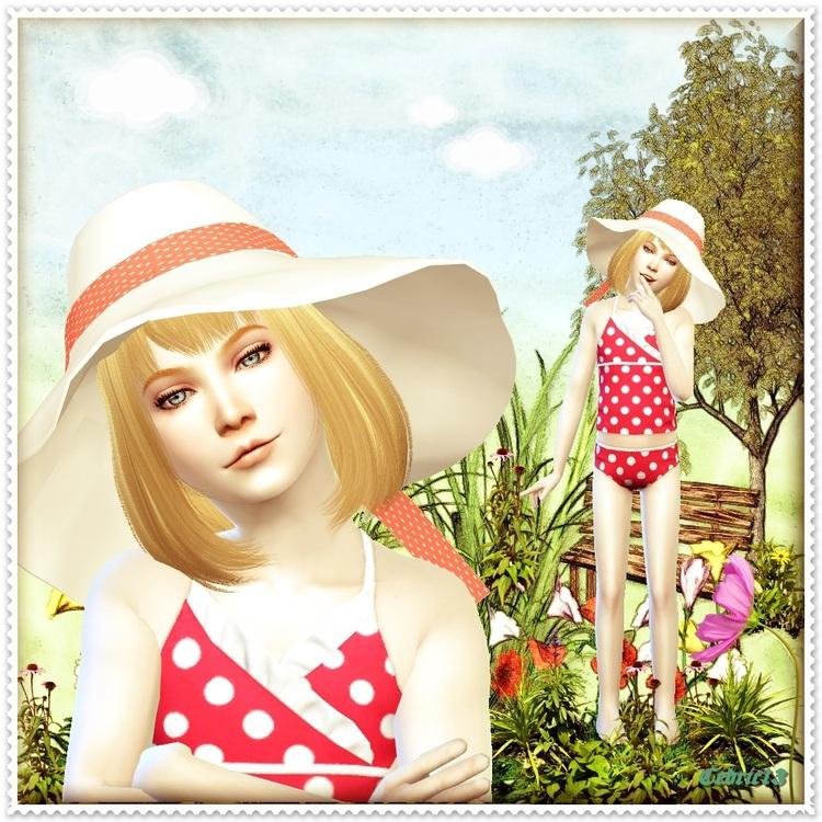 TS4 Sim: Marie Amour
