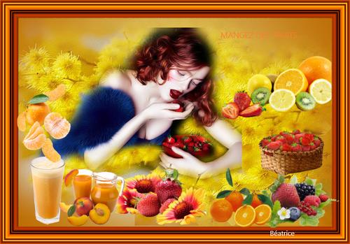 """Défi Kalyona N.4  """"Mangez des fruits """""""