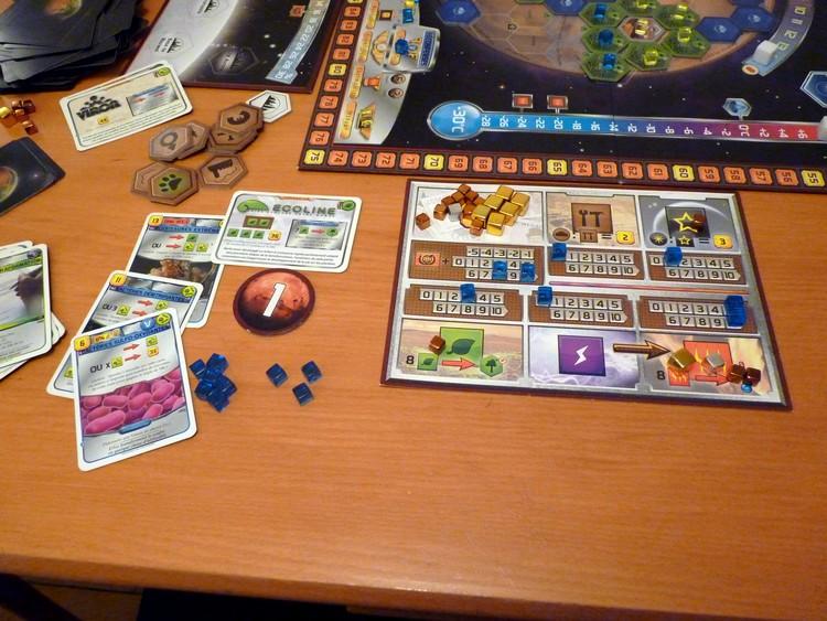 Terraforming Mars (mon côté)