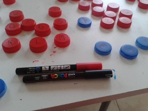 Fabrication de matériel pour les ateliers d'écriture