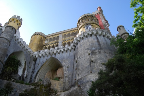 Palais de la Pena à Sintra au Portugal (photos)