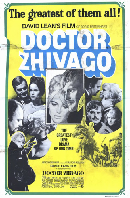 DOCTEUR JIVAGO - OMAR SHARIF BOX OFFICE 1966