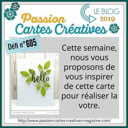 Passion Cartes Créatives#605 !