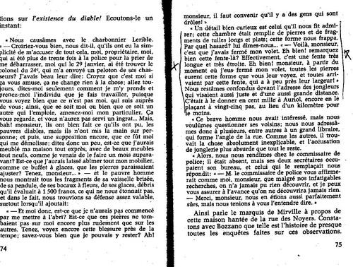 Camille Flammarion Poltergeist intelligent ? 049/75