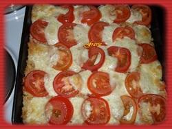 Gratin de riz / tomates / mozzarella