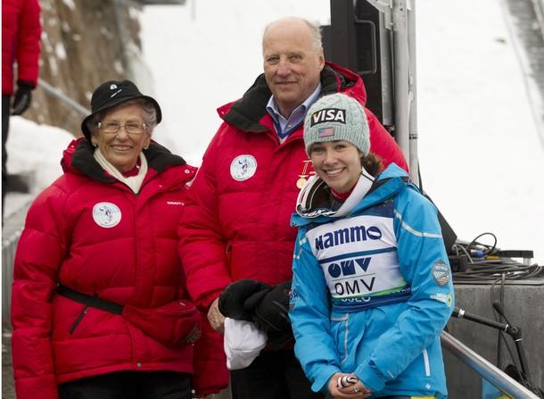 Harald, Astrid et la gagnante