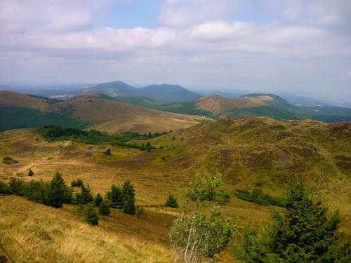 Auvergne - GR 441 - La chaîne des Puys - 3 jours