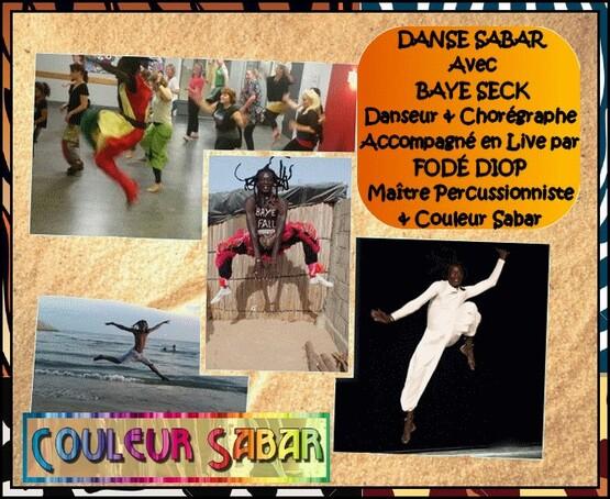 ★ Tarifs des Cours/Stages Danse Sabar