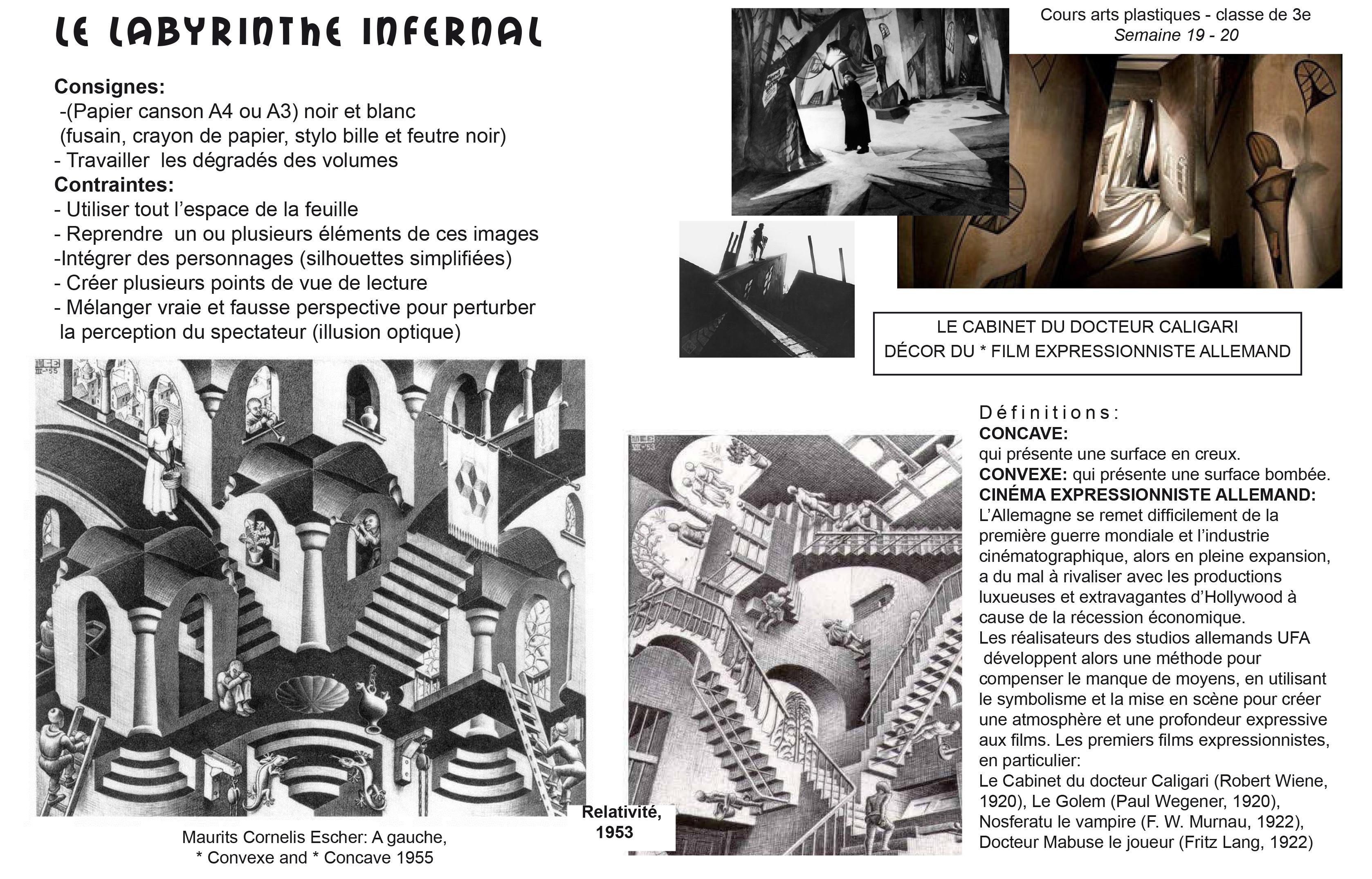 programme arts plastiques 3eme