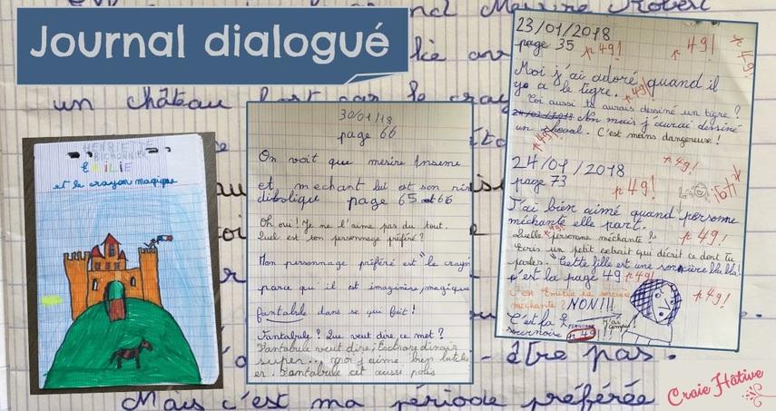 Le journal dialogué