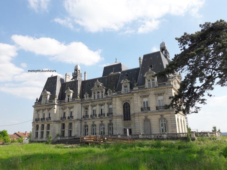 Le château de Mercy.