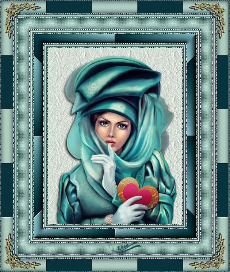 Cadre Evita    de L'étoile aux secrets
